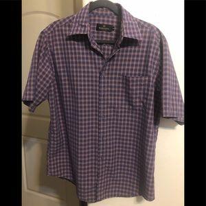 Bugatchi Uomo button down shirt size M